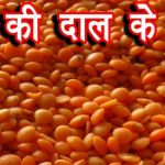 Masoor Dal Benefits