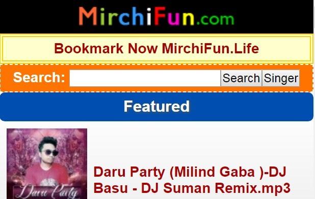 MirchiFun.com 2019 mp3 songs free download