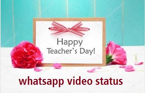 Teachers day whatsapp video status
