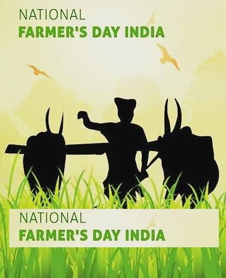 Happy  Farmers Day Pics, Kisan Diwas Ki Photos Images Free Download
