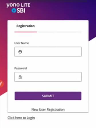 yono lite sbi registration process