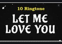 let me love you ringtone