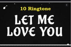 let me love you ringtone