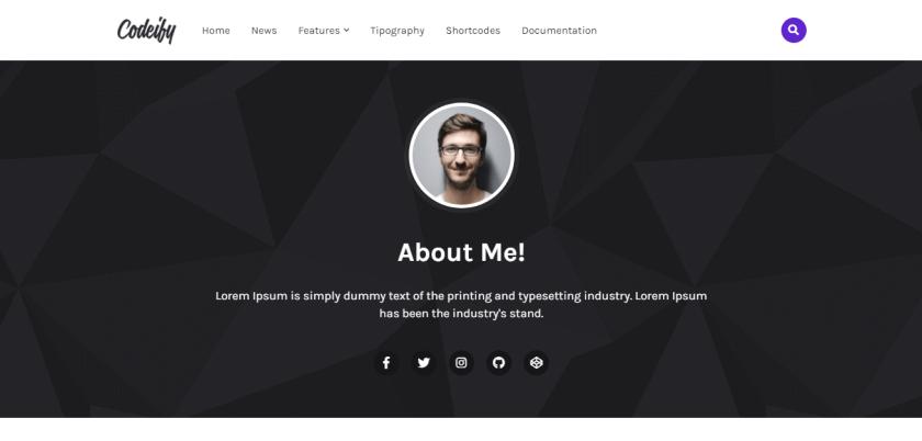 codeify-blogger-template