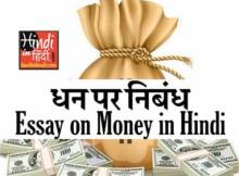 hindiinhindi Essay on Money in Hindi
