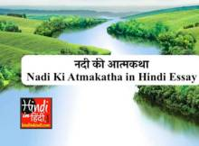 Nadi Ki Atmakatha in Hindi Essay