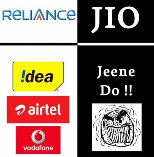 Reliance ka Jio vs Idea Airtel ka Jine Do