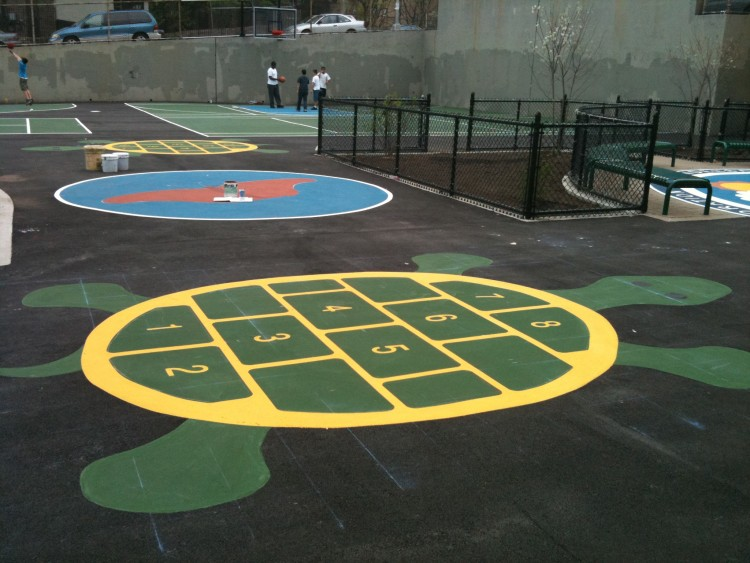 HINDING TENNIS COURTS  Tennis Court Construction  Court