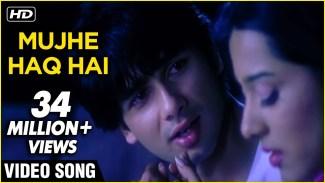 Mujhe Haq Hai (Udit Narayan) Lyrics