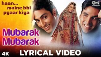 Mubarak Ho Tumko Ye Shaadi Tumhari (Udit Narayan) Lyrics