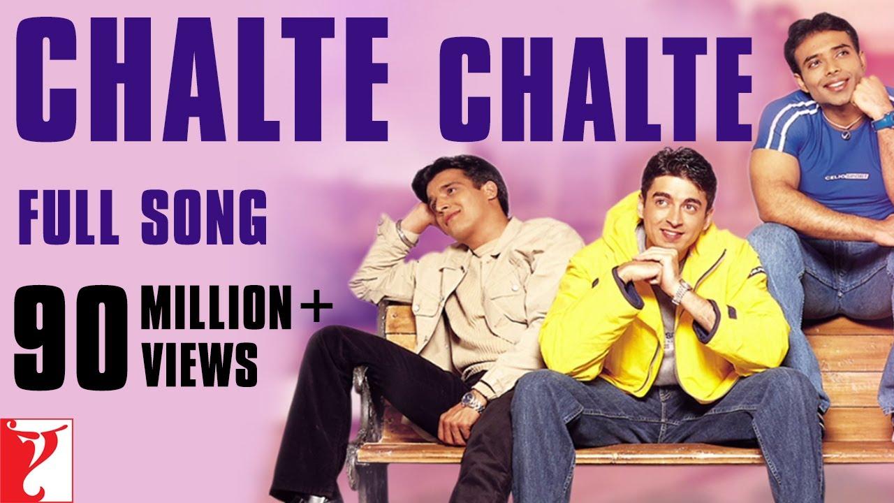 Chalte Chalte (Udbhav) Lyrics In Hindi