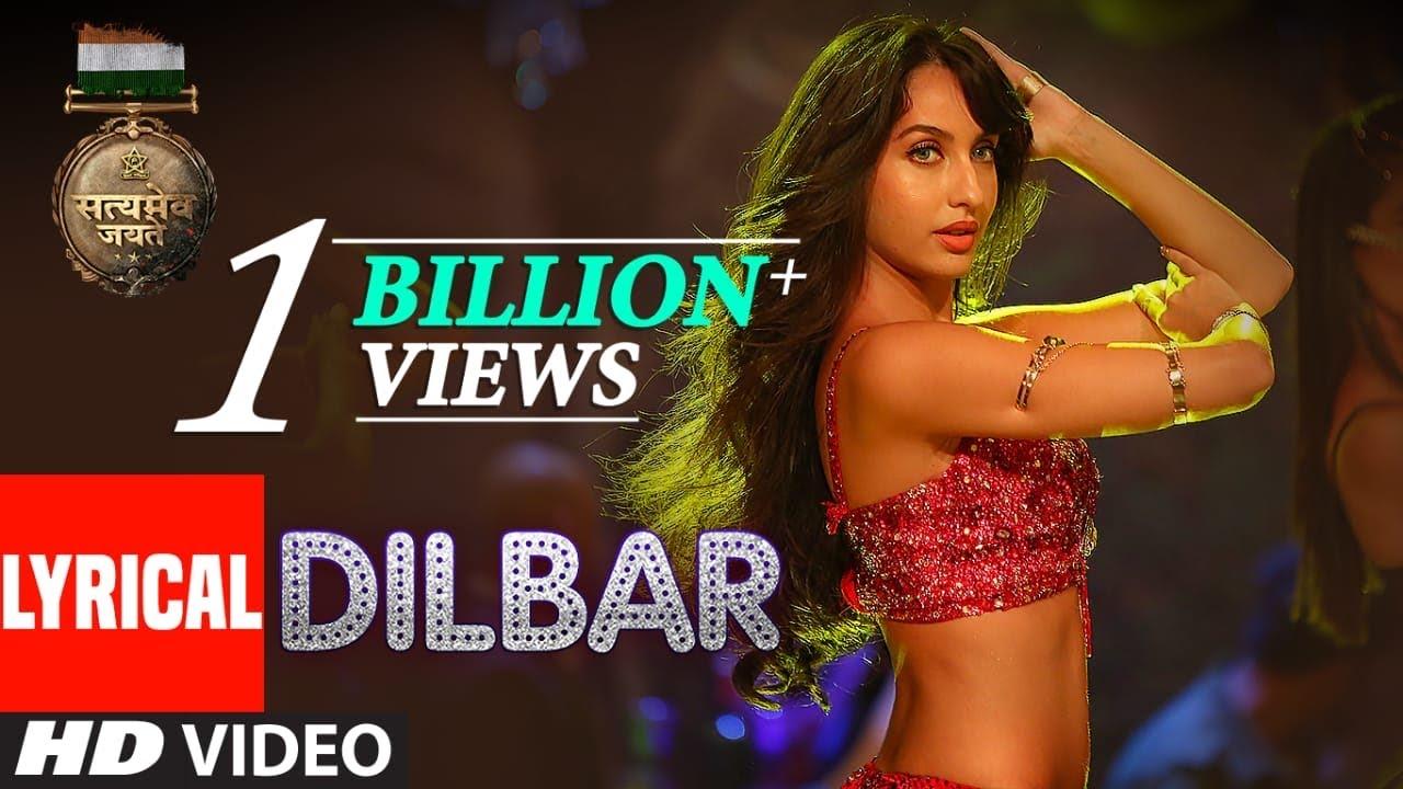 DILBAR (Neha Kakkar, Dhvani Bhanushali, Ikka) Lyrics