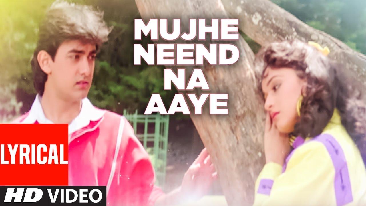 Mujhe Neend Na Aaye (Udit Narayan) Lyrics
