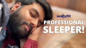 Professional Sleeper (Yashraj Mukhate) Lyrics