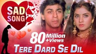 Tere Dard Se Dil Aabad Raha (Kumar Sanu) Lyrics