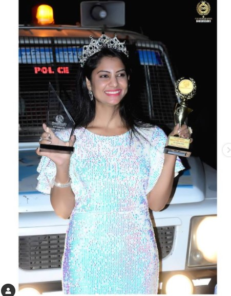 PSI Pallavi Jadhav Glammonn Miss India Biography