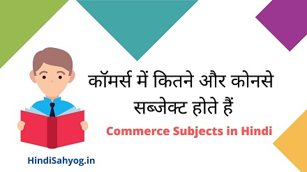 11th class commerce subject in hindi