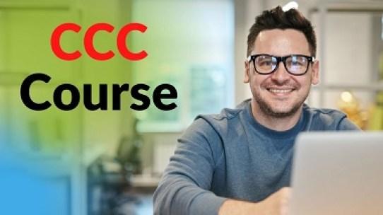 CCC Course Kaise Kare