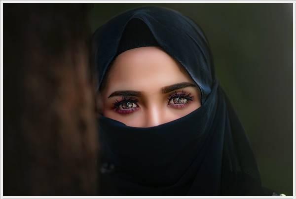 Hijab Girl Hidden Face Dpz
