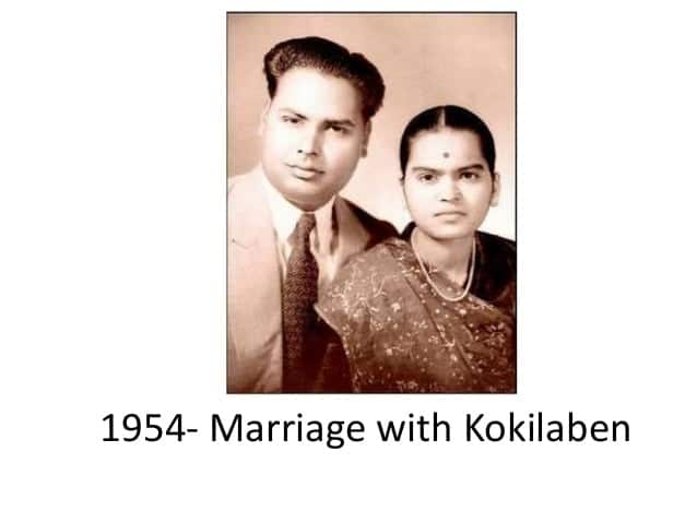 Dhurubhai Ambani Marriage