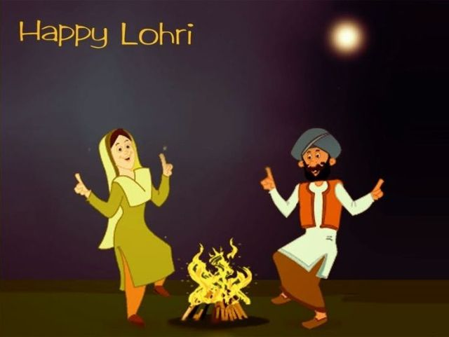 Happy Lohri Pics Wallpaper