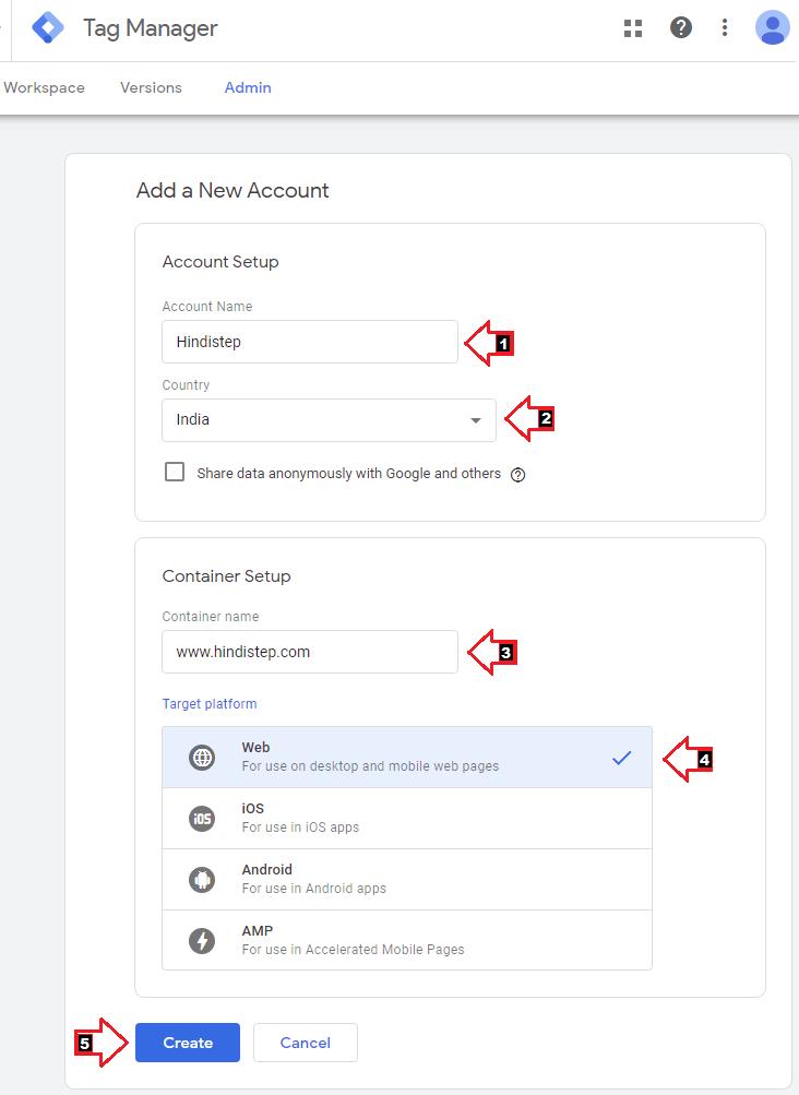 Google Tag Manager Setup3