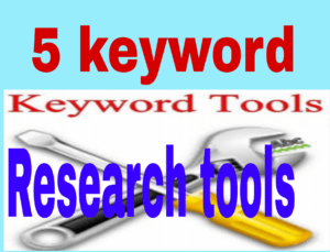 Keyword research tool jo apke kaam ke ho skte hai