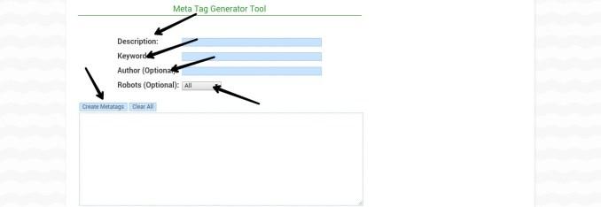 meta tag generate kaise kre