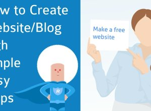 How to create a free website or blog