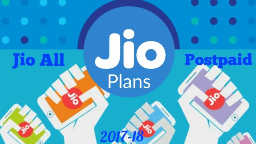 Jio postpaid plans 2018 in hindi