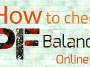 How to check pf balance and passbook in hindi