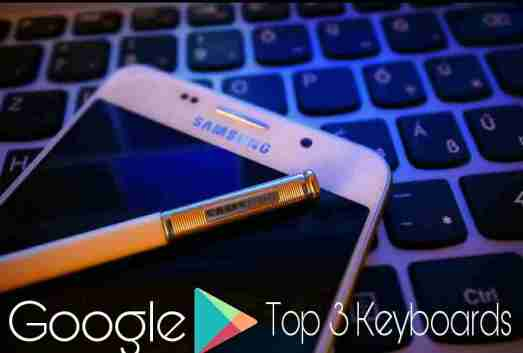 top 3 keyboards on google play