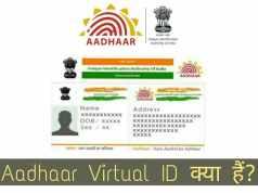 Aadhaar Virtual id kya hai