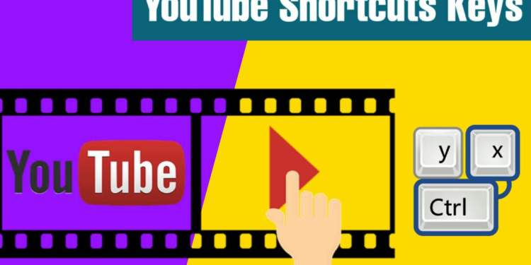 YouTube ShortCuts Keys (यूट्यूब के 10 Best Keyboard Shortcut Keys) -