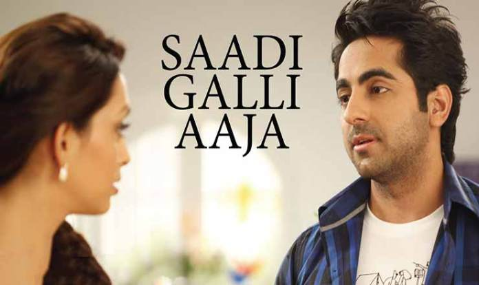 saadi galli aaja lyrics in hindi