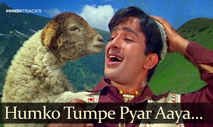 humko tumpe pyar aaya hindi lyrics