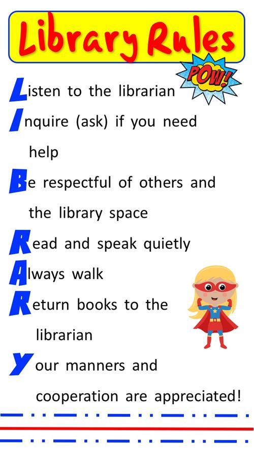 Library  Library Rules