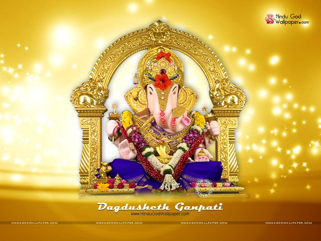 dagdusheth ganpati wallpaper hd