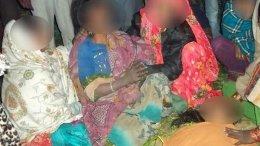Grieving Family in Muzaffarnagar UP