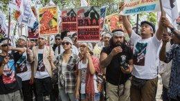 Bali Hindu Protest Benoa Bay Reclamation