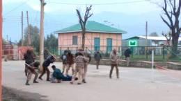 NIT Srinagar student Attacked