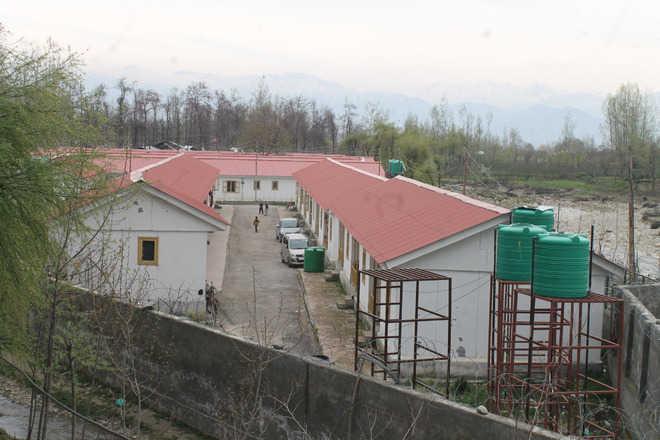A transit camp for Kashmiri Pandits at Vessu in Anantnag district. Source: The  Tribune