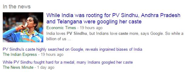 PV_Sindhu_Caste