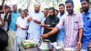 Devaswom Minister at beef fest