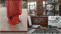 JNU Abusive Graffiti