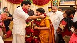 Veenay Vijayana Pinarayi wedding