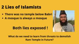 threats to Ram Temple