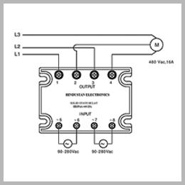 Three Phase Motor Reversal Relays, Relay Cards