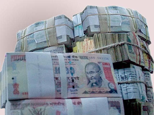 Indian Black Money Abroad Is 34lakh Crore INR