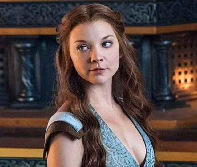 Actor Natalie Dormer In A Scene From Popular Tv Series Game Of Thrones